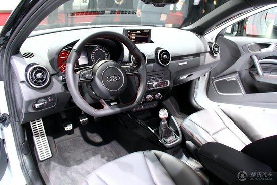 奥迪A1 2.0T quattro限量版日内瓦车展首发