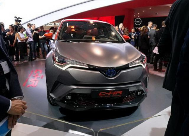 丰田C-HR Hy-Power于2017法兰克福车展首发