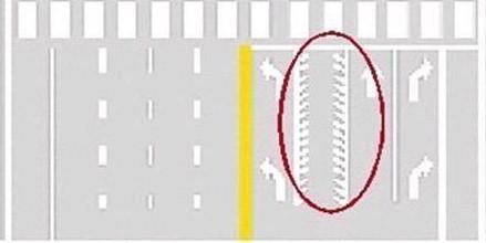 碰到锯齿车道可别乱开 开错二次直接吊销驾照