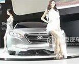 """2011广州车展北京现代自主品牌""""首望""""亮相"""