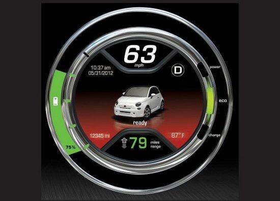[海外车讯]菲亚特500e电动车续航100公里