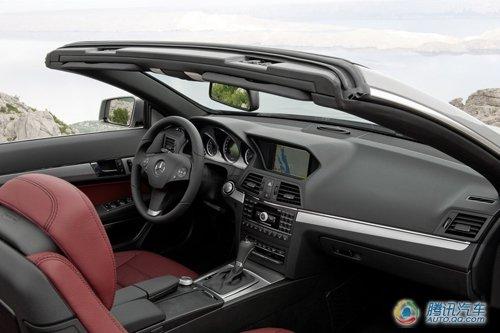 奔驰新E350软顶敞篷跑车上市 售88.8万元