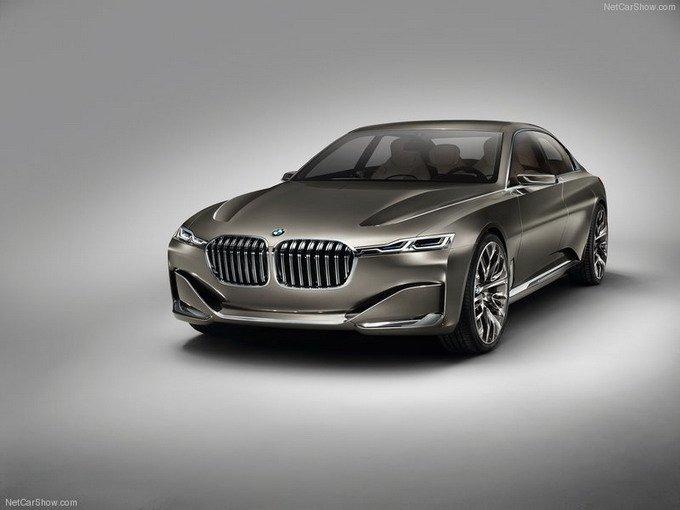 宝马在今年北京车展上发布的Vision Future Luxury Concept概念车