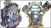 长时间的停放,引擎内机油又流回引擎下部之机油底壳内