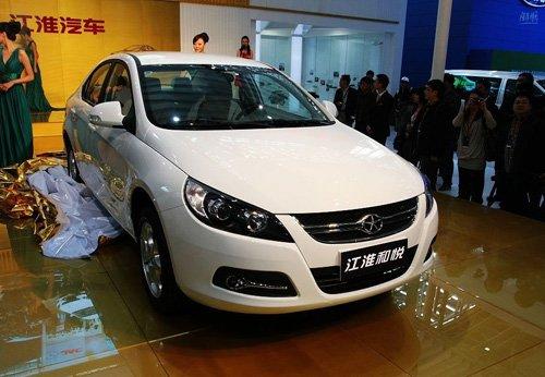 2011全国节能环保挑战赛参赛车-江淮和悦RS