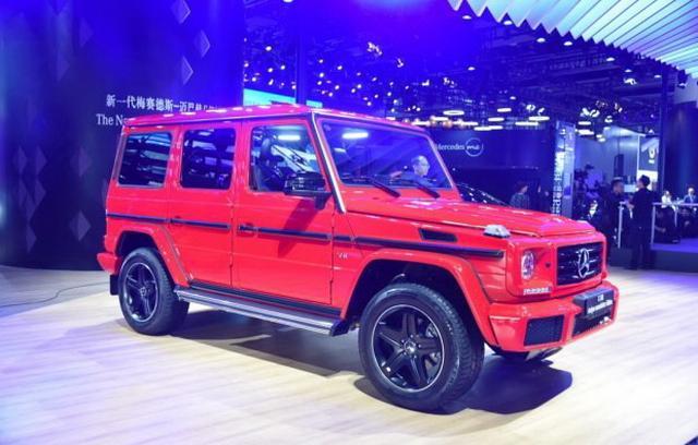个性红色涂装 疾驰G级特殊版海内首发