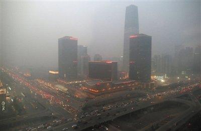 北京市拟规定遇重污染天部分车强制停驶