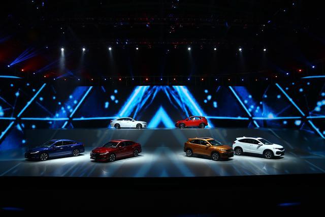 东风Honda全新思铂睿和XR-V双车震撼发布