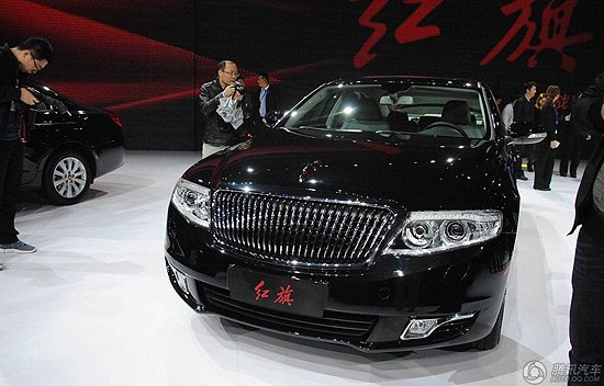 一汽红旗H7亮相北京车展 将主打商务市场