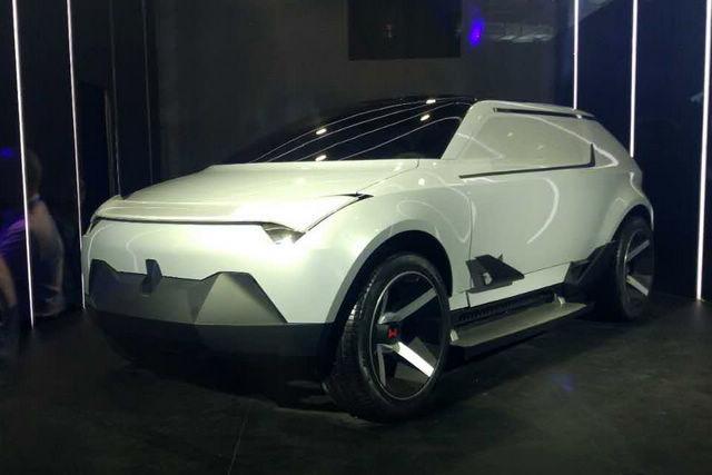 威马汽车首款概念车AG2020亮相