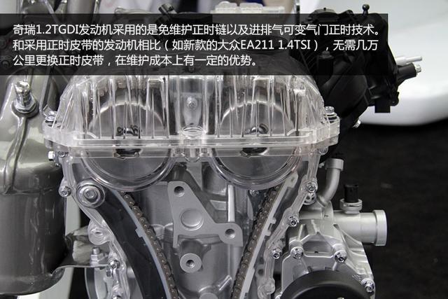 发动机采用了免维护正时链和双可变气门正时技术