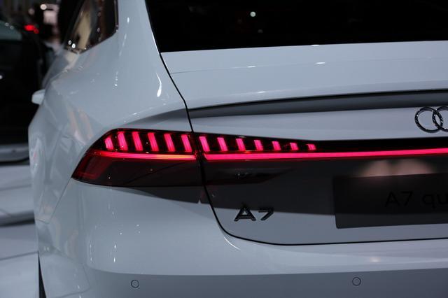 奥迪全新A7亮相北美车展 最美轿车焕颜归来