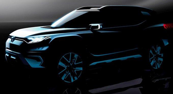 韩系新7座SUV 外观惊艳尺寸亮了