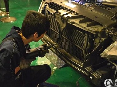 Tiguan加装机油冷却器