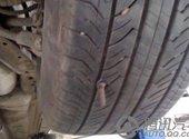 轮胎被扎了几个眼