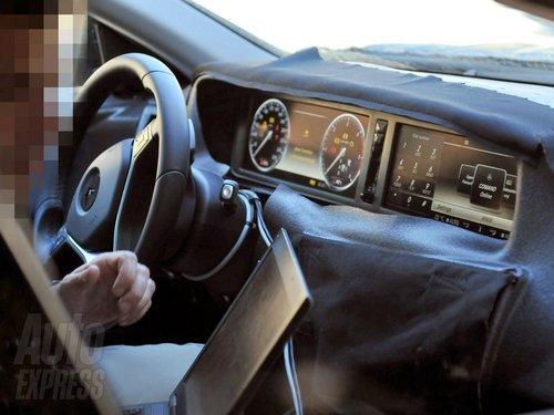 新一代奔驰S级路试谍照 将搭6D预警系统