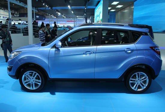长安首款SUV车型CS35-北京车展后8款SUV车型将上市高清图片