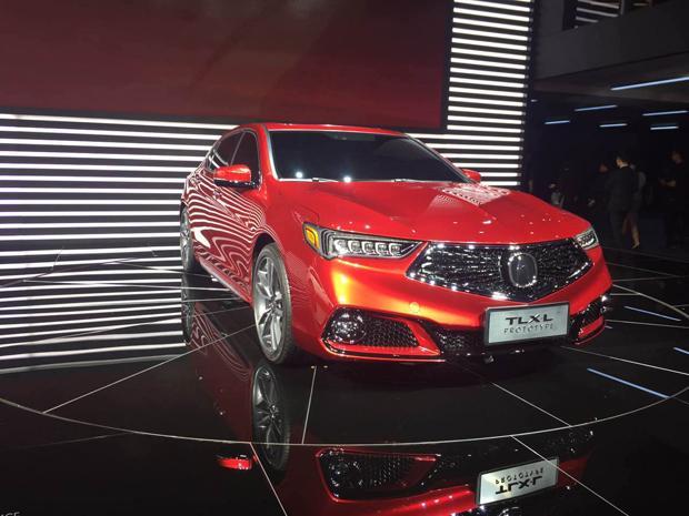 讴歌在华新车计划曝光 国产TLX-L将12月上市