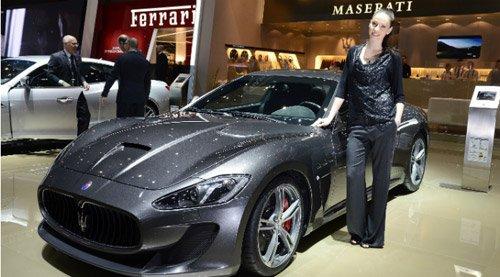 玛莎拉蒂全新四座跑车日内瓦车展全球首发