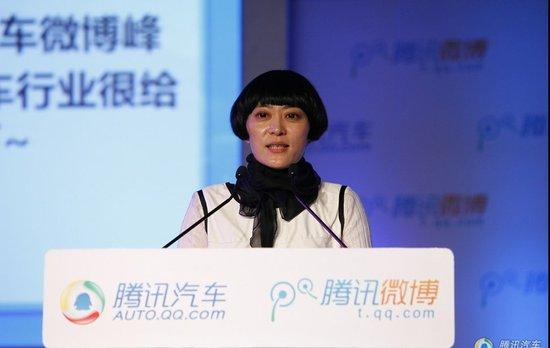 栾娜:汽车领域腾讯微博用户数达6210万