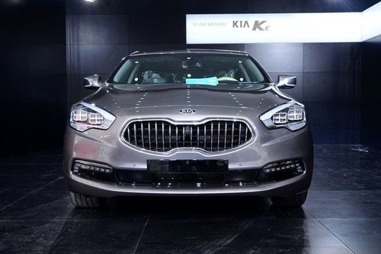 [新车解析]起亚旗舰型新车K9亮相上海车展