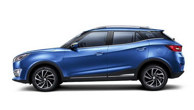 众泰全新小型SUV T300官图曝光 预售价6万起