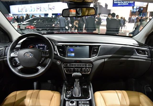 传祺GS7将于今年8月上市 预售15.58万元起
