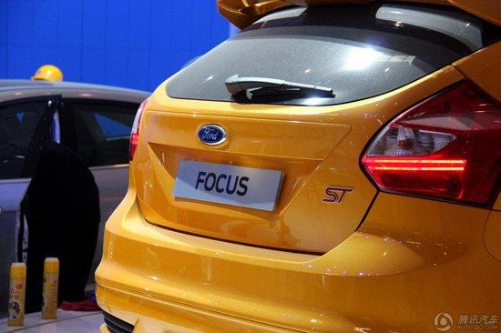 福特新福克斯ST亮相北京车展 平民性能车