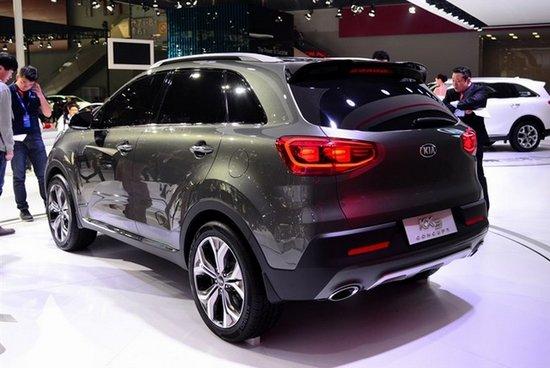 东风悦达起亚KX3量产版将明年一季度上市
