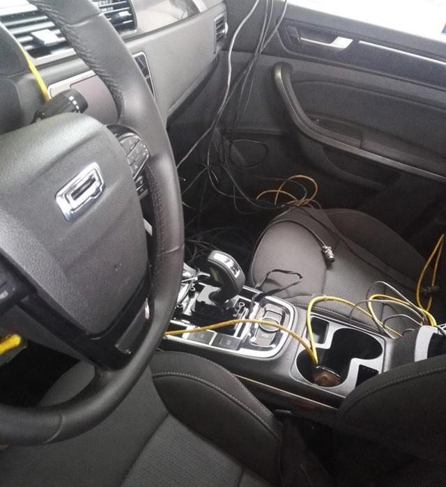 新款不雅致5 SUV将8月成都车展上市 电子挡杆
