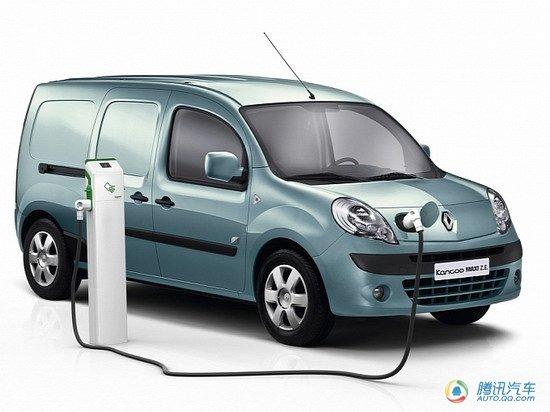 雷诺推Kangoo Maxi ZE车型 日内瓦车展发布