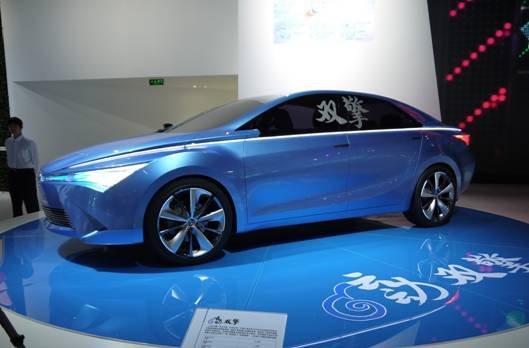 TMEC国产概念车——云动双擎
