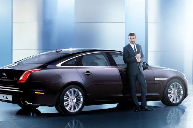 捷豹宣布大卫·贝克汉姆成为捷豹中国品牌大使