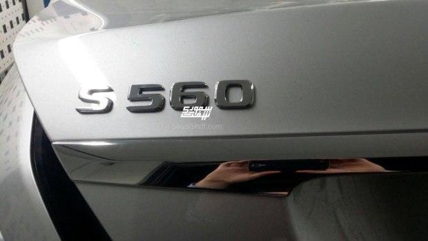 奔驰新款S级谍照 新增S 560/4月首发