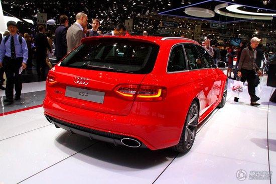 奥迪RS4旅行版日内瓦首发 搭4.2升V8发动机