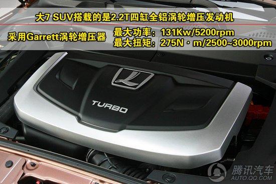 纳智捷大7 SUV购车手册 首选四驱智尊型