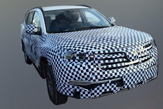 长安cs95量产车依旧延续了概念车的整体外观造型,只是将之前高清图片