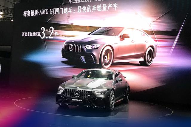奔驰AMG GT四门版全球首发 百公里加速最快3.2秒