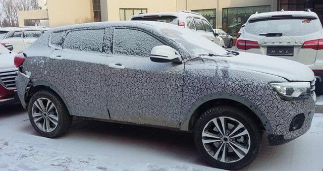 曝哈弗Concept B量产版谍照 定位小型SUV高清图片