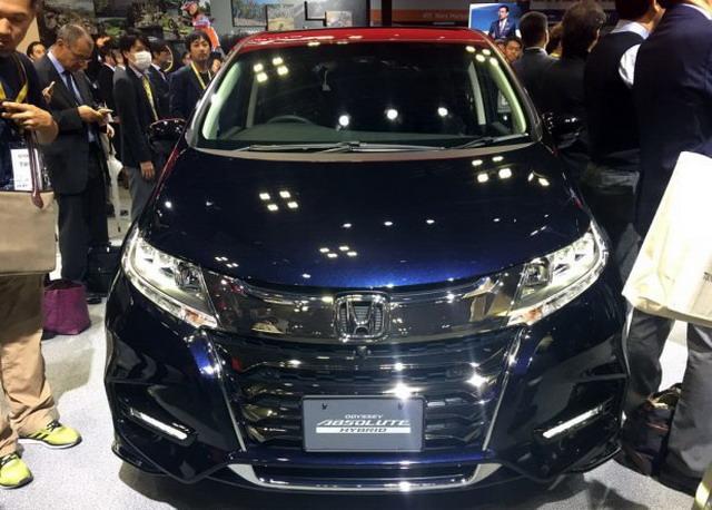 安全性配置升级 本田新款奥德赛正式亮相