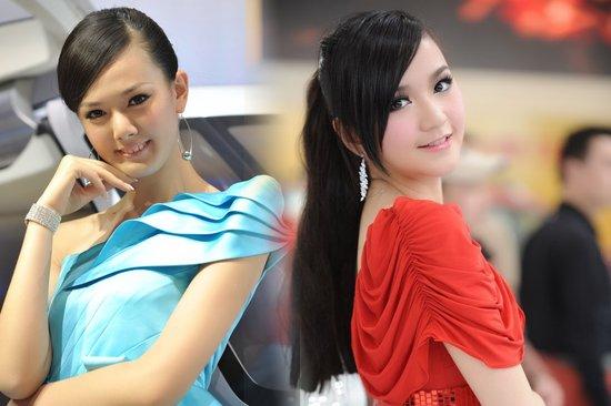 美艳耀眼回顾 2011上海车展美女车模精选