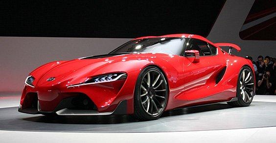 丰田FT-1 Concept概念车北美车展首发 超跑接班人