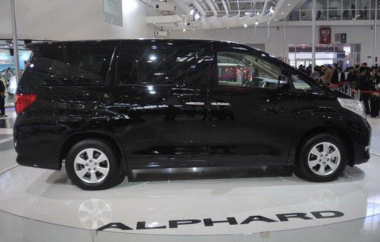 田下月将推七座MPV新车阿尔法