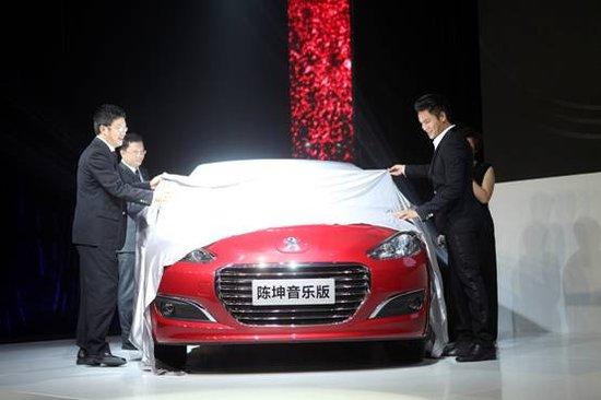 东风标致308陈坤音乐版车型揭开面纱高清图片