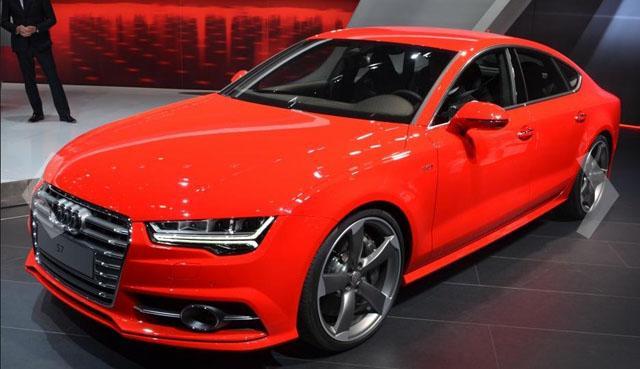 奥迪改款S7实车正式发布 年内进口国内