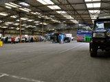 达喀尔拉力赛赛车检修大厅