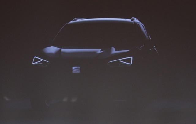 西雅特全新中型SUV预告图 柯迪亚克姊妹车
