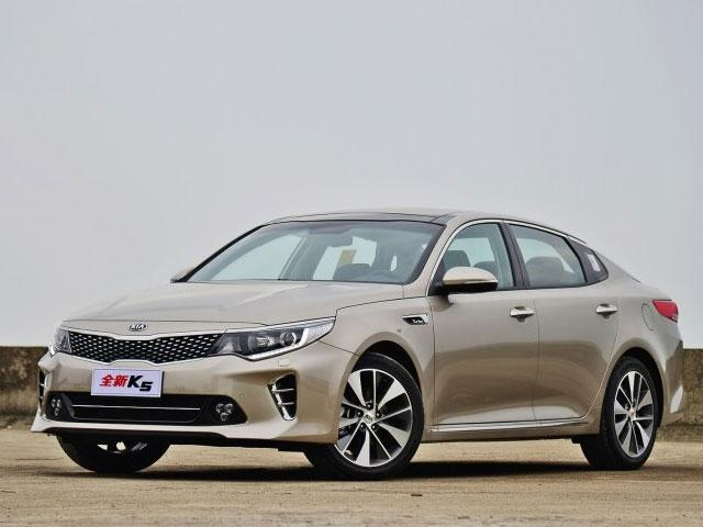 起亚optima(k5)是起亚汽车公司起生产的中级四门轿车,自高清图片