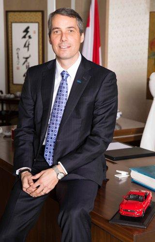福特汽车(中国)有限公司董事长兼首席执行官罗礼祥