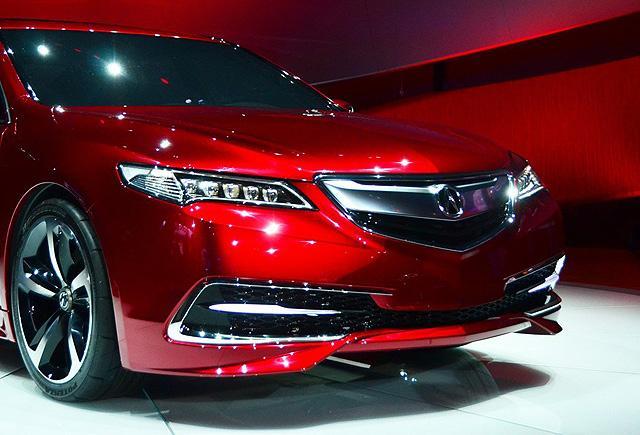 [国内车讯]讴歌TLX量产版将于北京车展首发